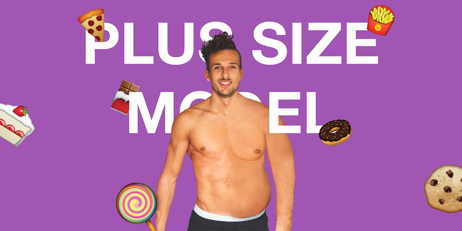 Slecht nieuws! Plus Size Model te dik…