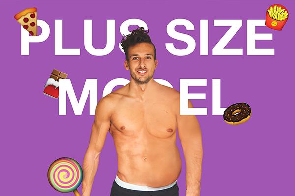 plus size model